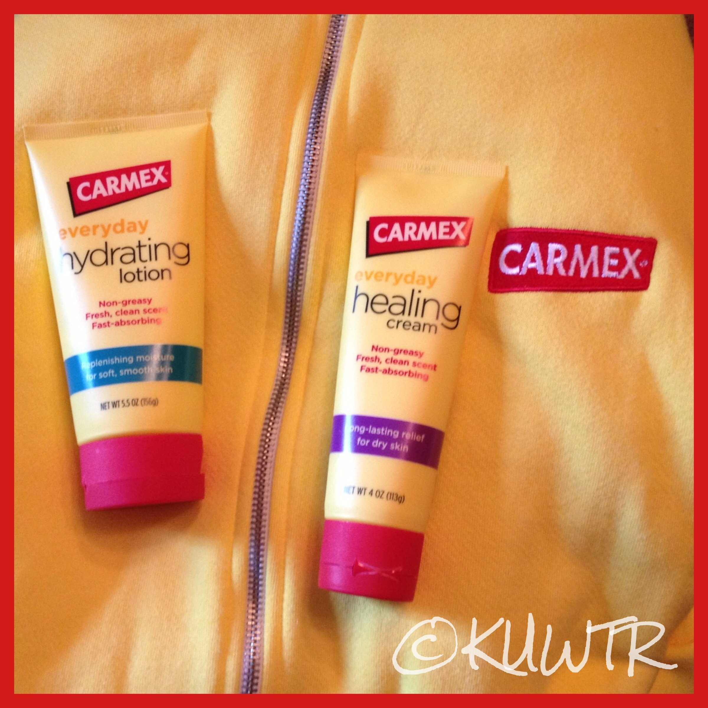 Review – NEW! Carmex Healing Lotion & Cream
