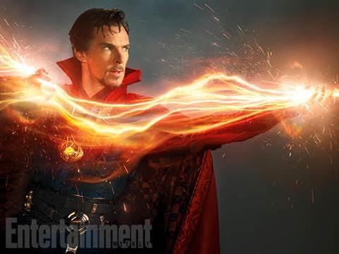 First Look – Benedict Cumberbatch as Marvel's Doctor Strange