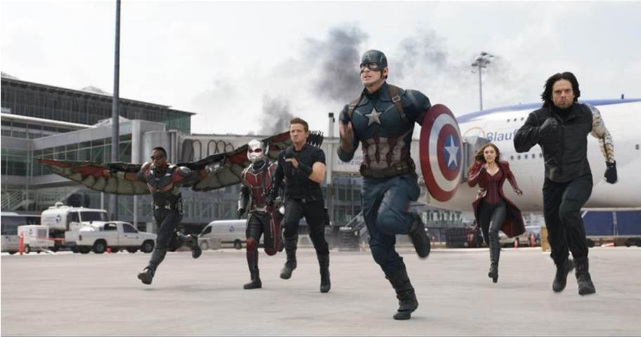 Surprises in Marvel's CAPTAIN AMERICA: CIVIL WAR Trailer