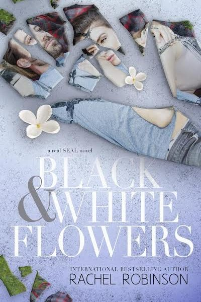 Life, Books, & Loves: BLACK AND WHITE FLOWERS by Rachel Robinson