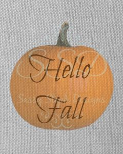 hello fall example
