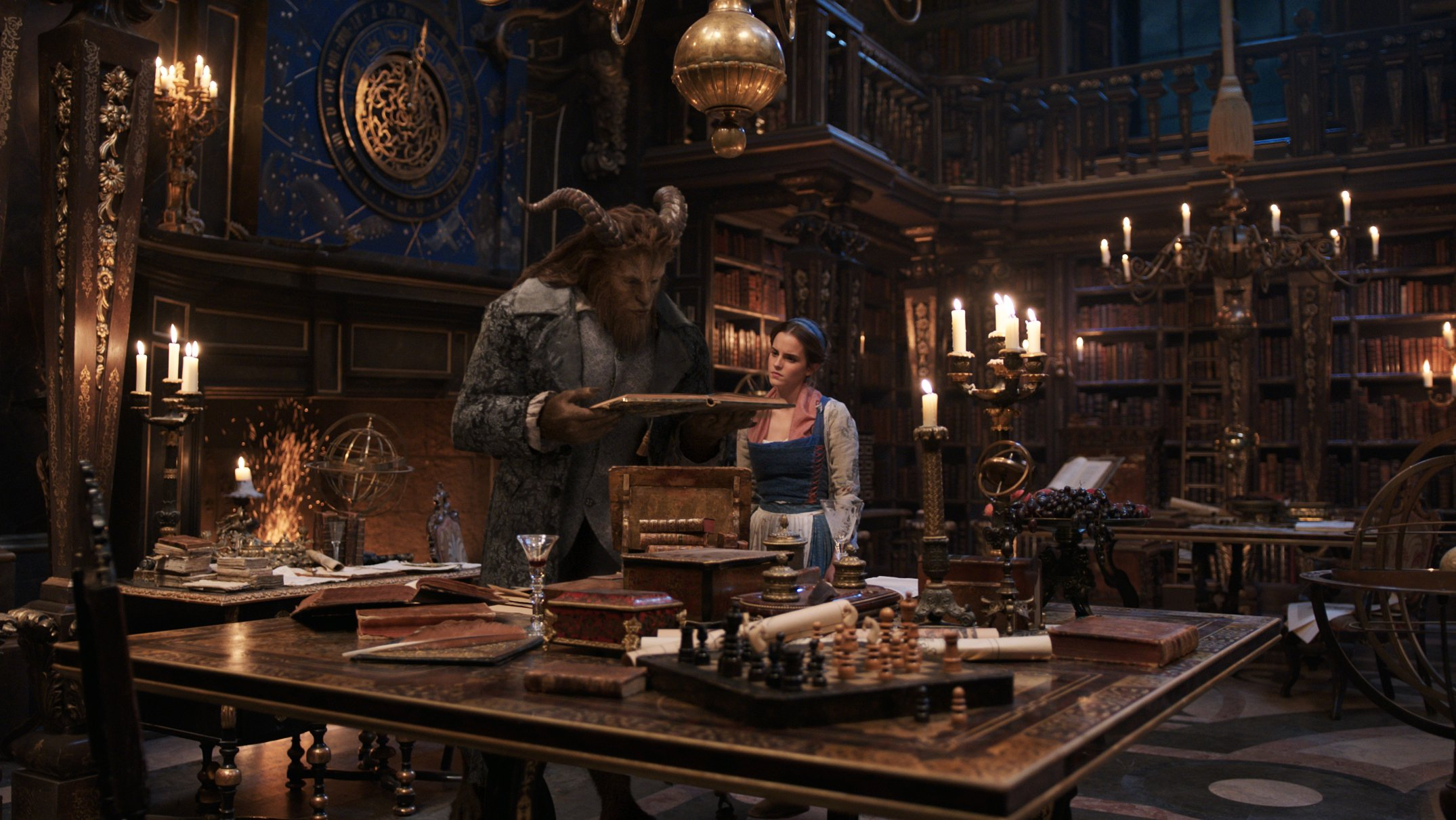 Brand New Images from Disney's Beauty and the Beast
