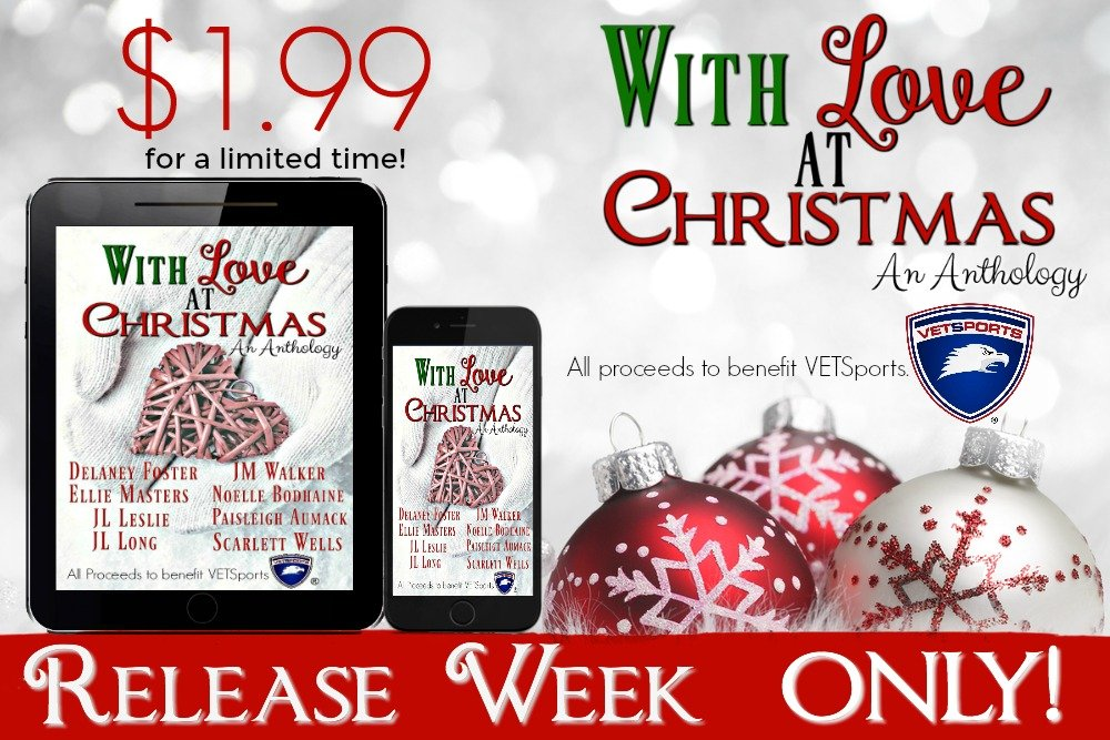 Release Day Blitz: With Love At Christmas an anthology