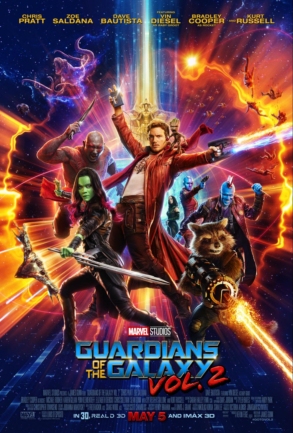 Advance tickets on sale now for Marvel Studios' GUARDIANS OF THE GALAXY VOL. 2