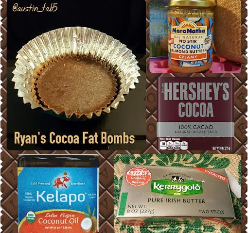 Life, Books, & Loves: Ryan's Cocoa Fat Bombs