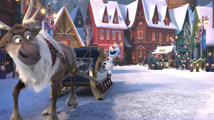 Walt Disney Animation Studios Unwraps OLAF'S FROZEN ADVENTURE!