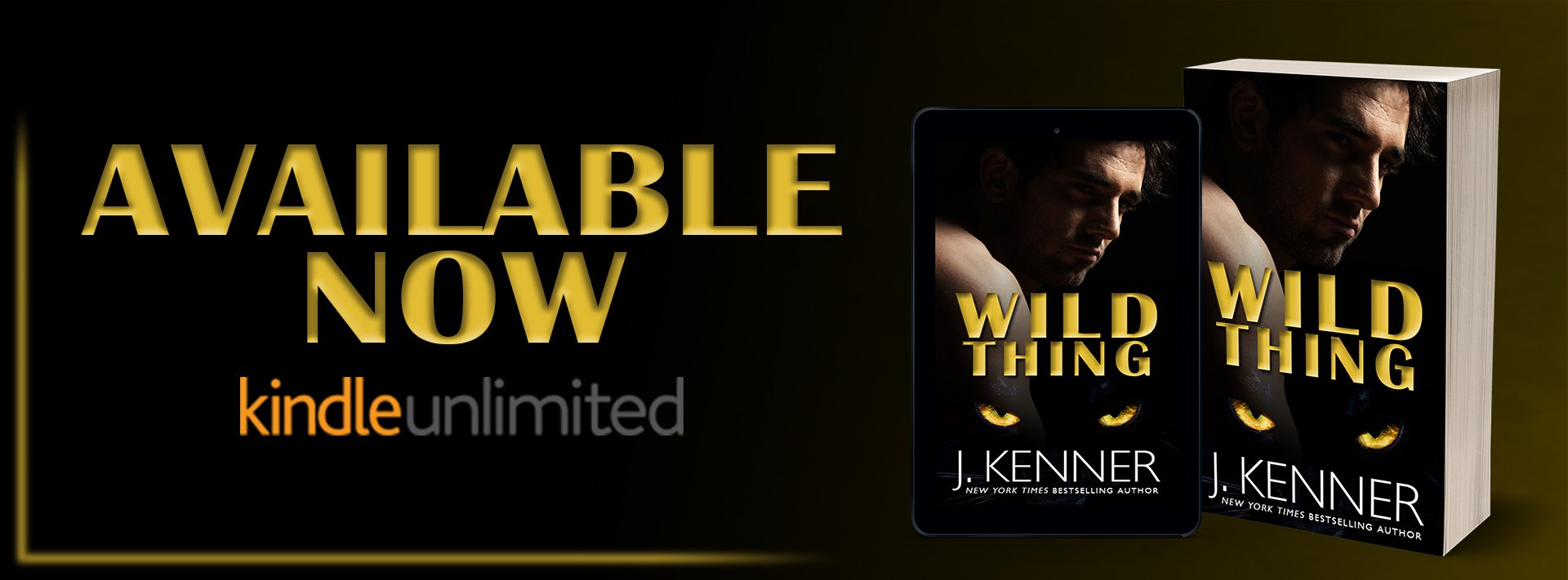 Release Blitz: Wild Thing by J. Kenner