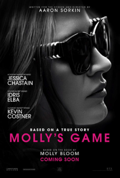Sorkin and Chastain are winners with Molly's Game