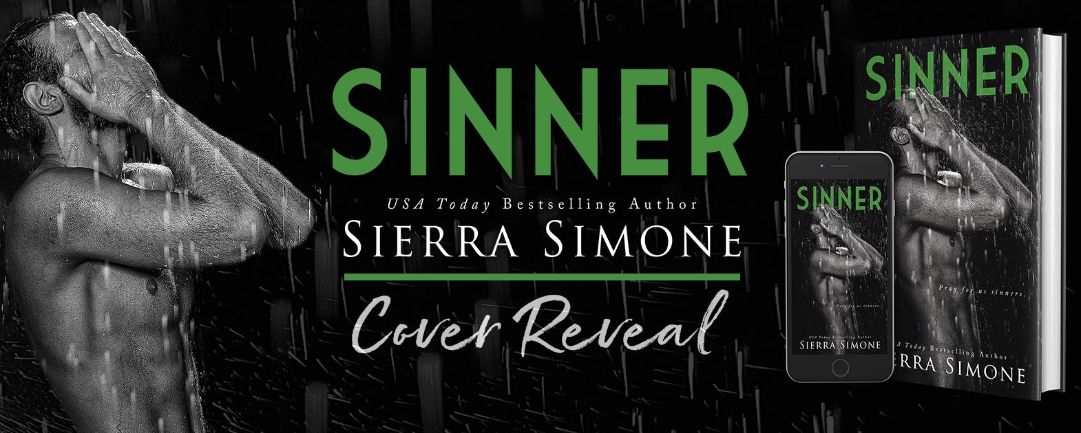 COVER REVEAL- SINNER by SIERRA SIMONE