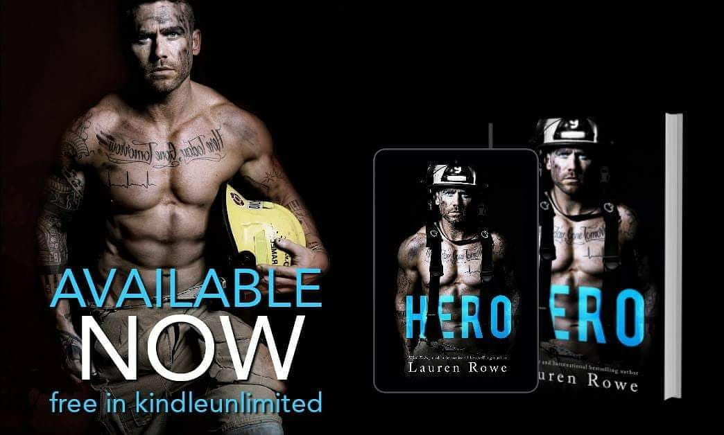 New Release and Review – HERO by Lauren Rowe