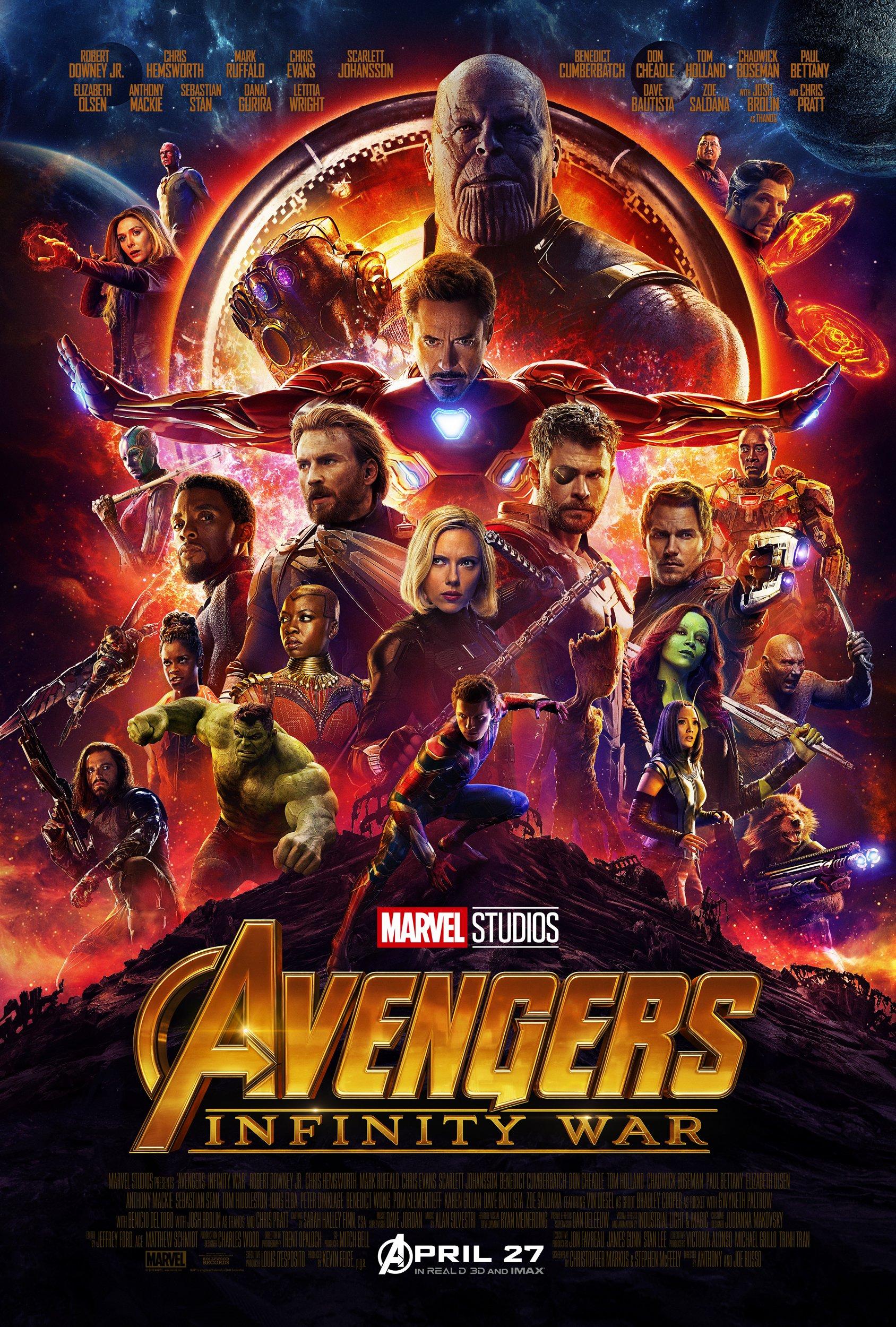 Marvelous Marvel Posters Avengers: Infinity War