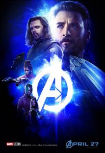infinity war poster cap