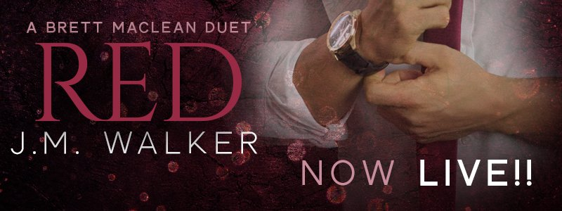 More Brett is finally here! RED by J.M. Walker is now LIVE