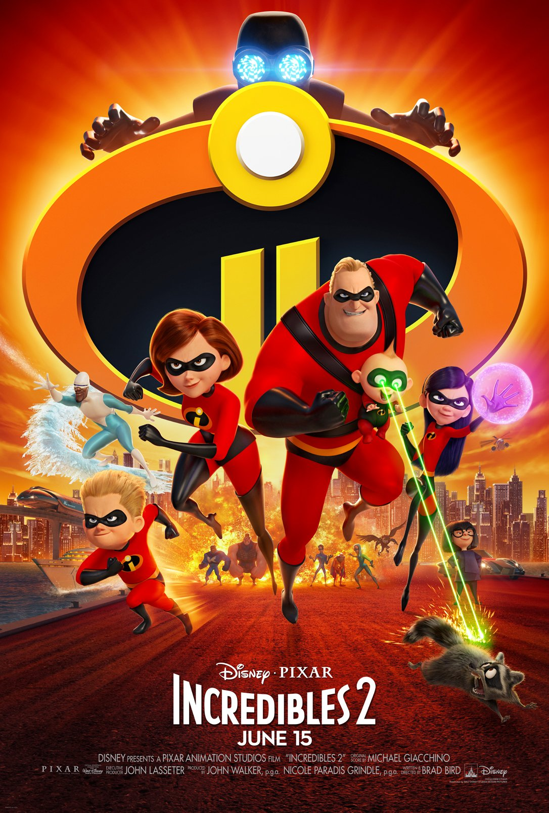 Disney Pixar's INCREDIBLES 2 Incredibly Smashes Box Office