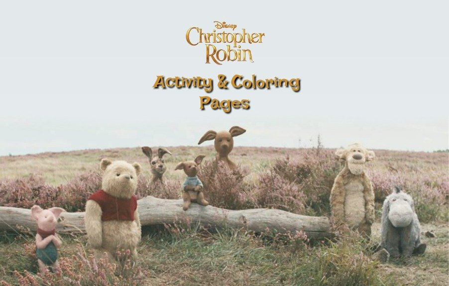 Disney's Christopher Robin Activity & Coloring Pages