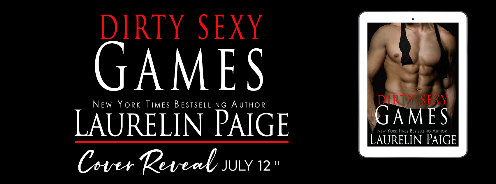 Check out the cover for DIRTY SEXY GAMES by Laurelin Paige