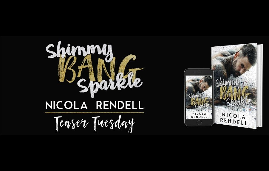 Check out this new teaser from Shimmy Bang Sparkle by Nicola Rendell