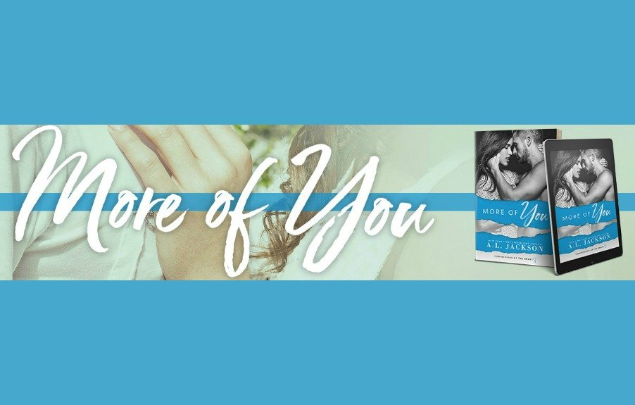 More of You by A.L. Jackson Cover Reveal