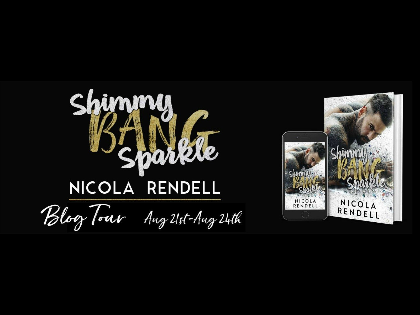 The must read Shimmy Bang Sparkle by Nicola Rendell is LIVE