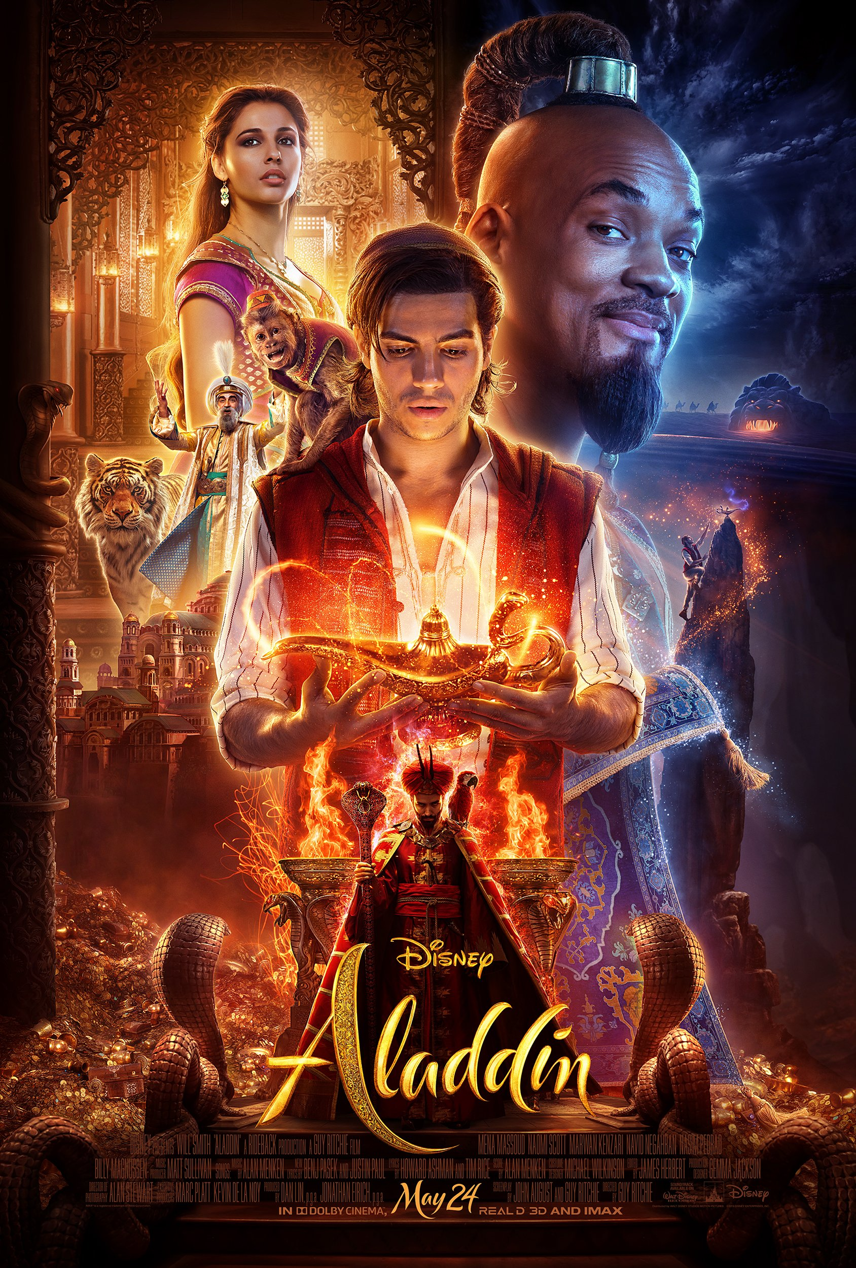 Every Turn a Surprise with the New Aladdin Trailer
