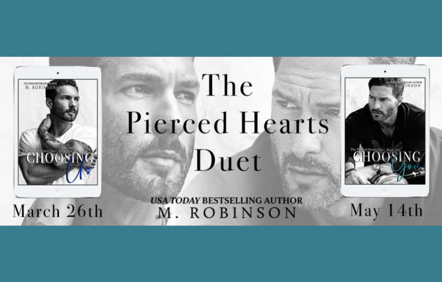 Double Cover Reveal from M. Robinson