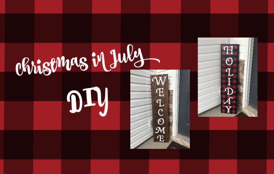 Christmas in July: DIY and Hallmark Christmas movies!