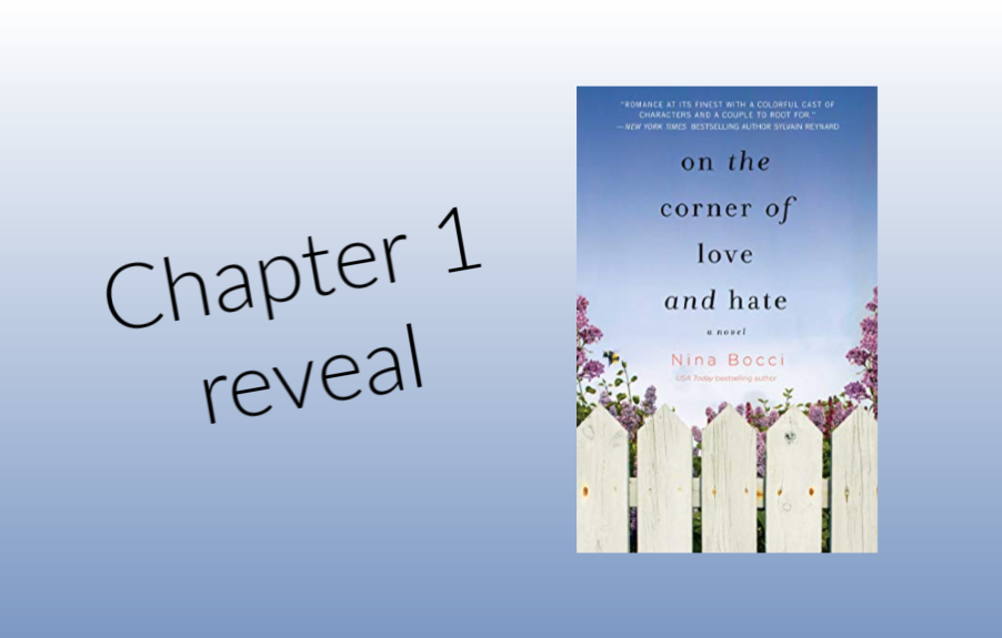 Chapter 1 ON THE CORNER OF LOVE AND HATE