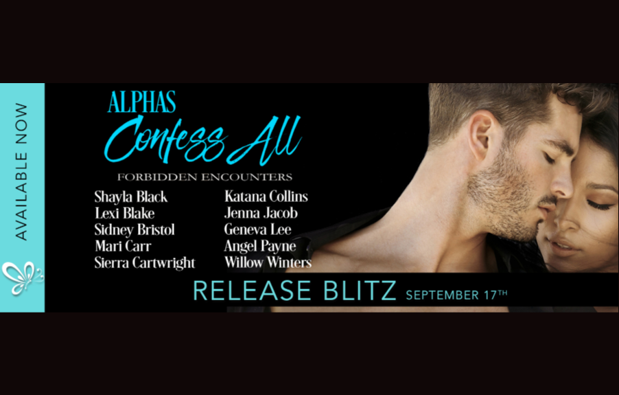 Alphas Confess All, an all-new anthology