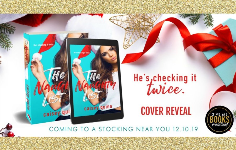 The Naughty List by Caisey Quinn Cover Reveal