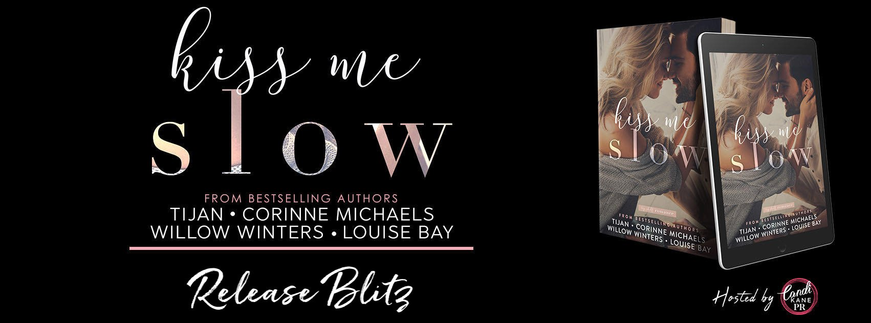 KISS ME SLOW from Top Shelf Romance is LIVE