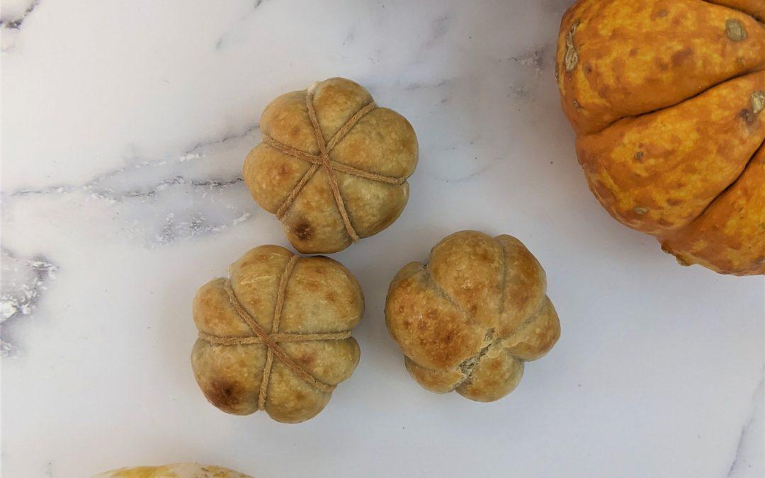 Meatball Stuffed Mini Pumpkins