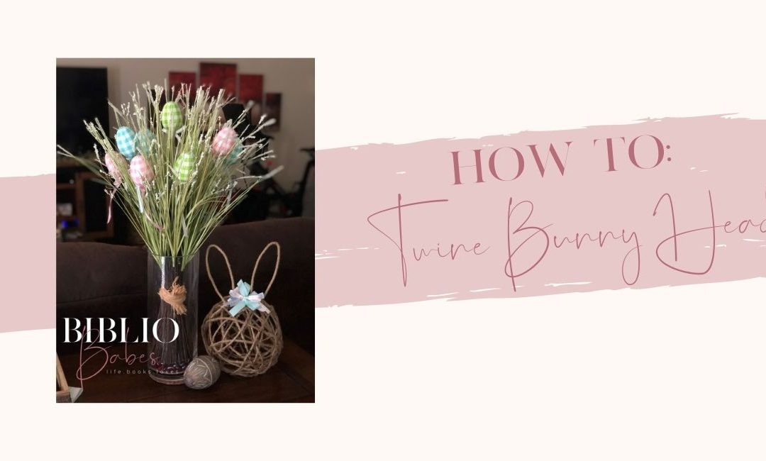 Twine Bunny Head DIY